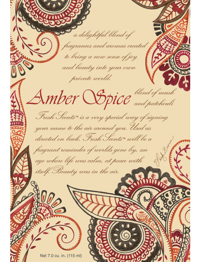 Amber Spice Scented Sachet