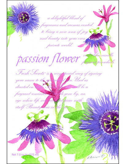 Passion Flower Scented Sachet