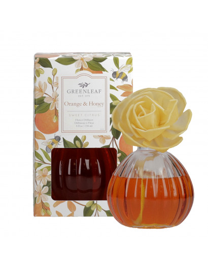 Orange And Honey Flower...
