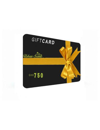 Gift Card (₵750)