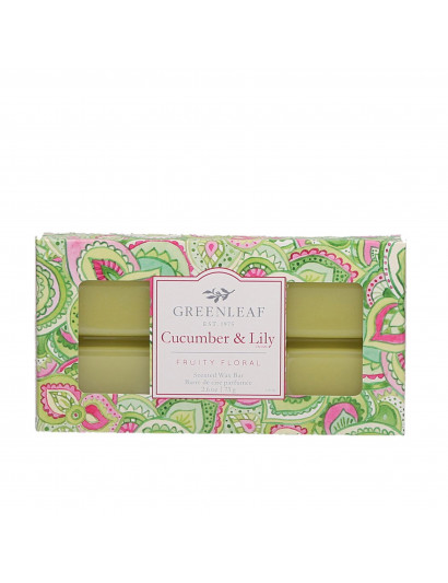 Cucumber Lilly Scented Wax Bar