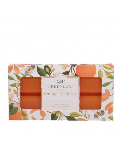 Orange & Honey Scented Wax Bar