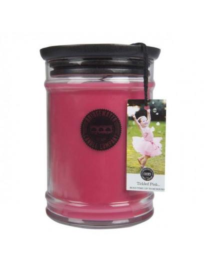 Tickled Pink Large Jar Candle