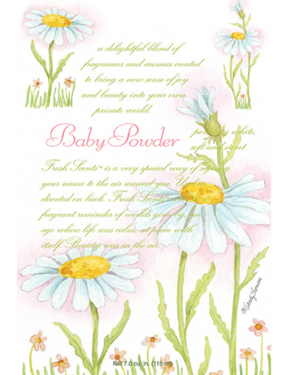 Baby Powder Scented Sachet