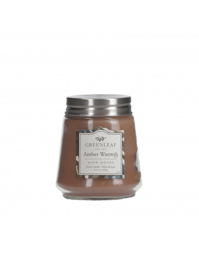 Amber Warmth Petite Candle