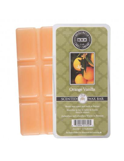 Orange Vanilla Scented Wax Bar