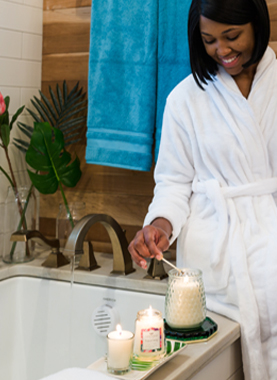 Pampering yourself has never been a bad thing.